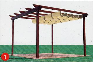 Toldatek pergolas de maderas y toldos de cofre profesionalidad compromiso y mantenimiento - Lonas para pergolas ...