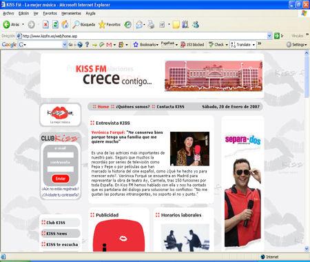 Emisoras de radio de Valladolid - Kiss FM